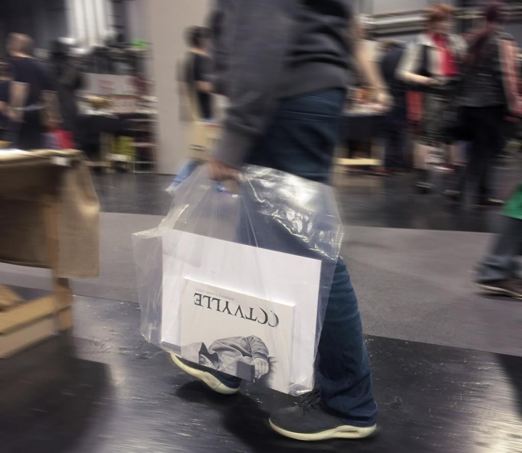 bag blurred